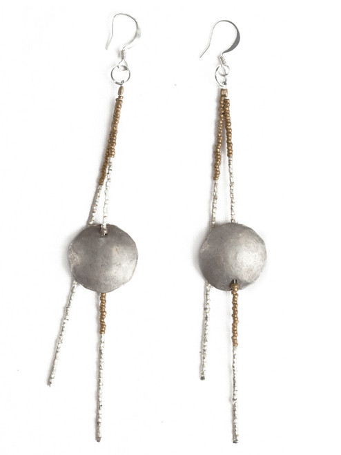 Sela Dangle Earrings - Recycled Materials