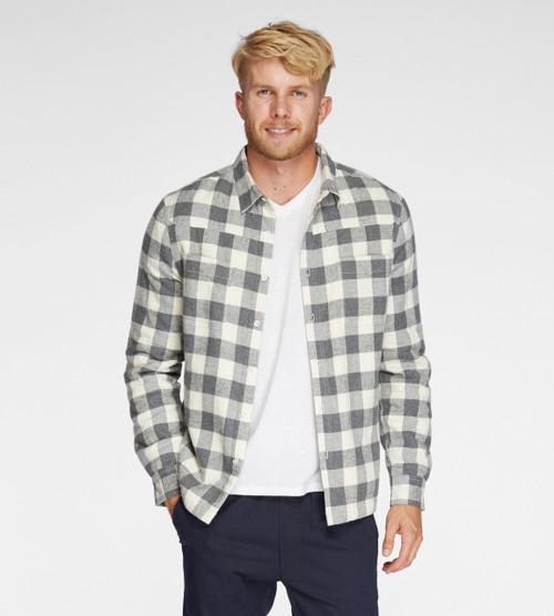 Men's Sherpa Lined Work Shirt- Organic Cotton