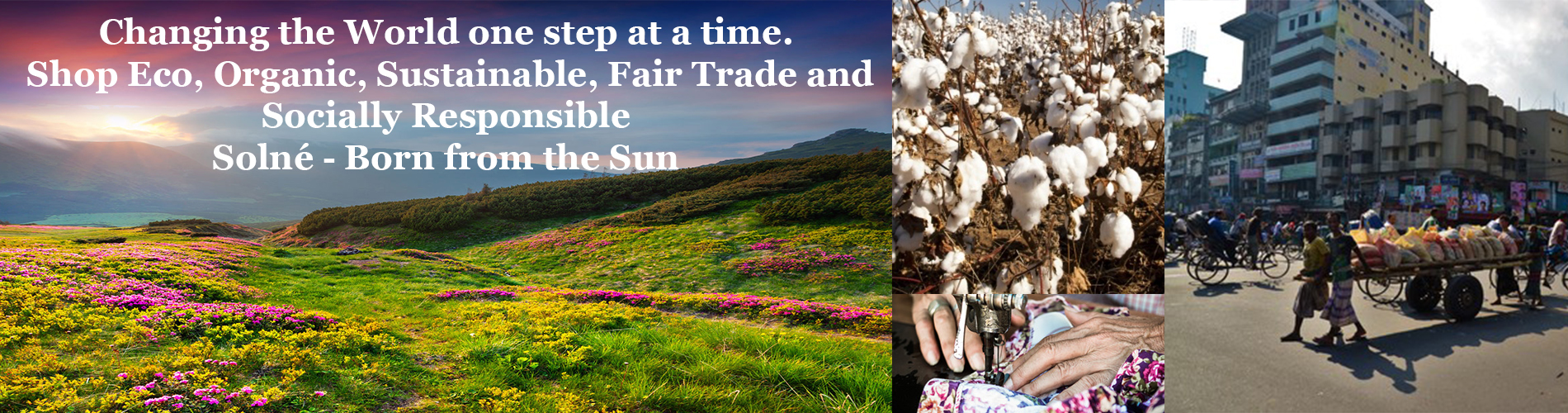 Shop Eco, Organic, Sustainable, Fair Trade and Socially Responsible