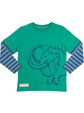Woolly Mammoth Long Sleeve T-Shirt - Organic Cotton