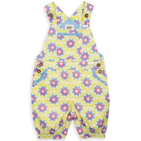 Organic Cotton Spiro Bib Baby Short - Fair Trade