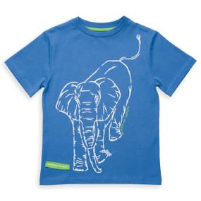 Organic Cotton Elephant T-Shirt - Fair Trade