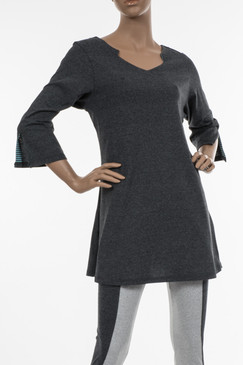 Lotus Tunic - Recycled Material Fabric