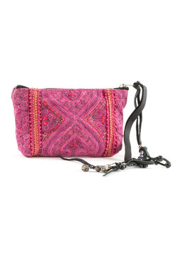 Jade Clutch - Hand Embroidered