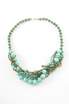 Turquoise Arroyo Bundle Necklace - Eco Beads