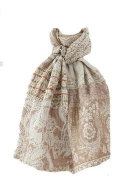 Denise Coquillage Scarf - 100% Organic Cotton