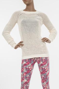 Natural Okello Knit Sweater - Organic Cotton