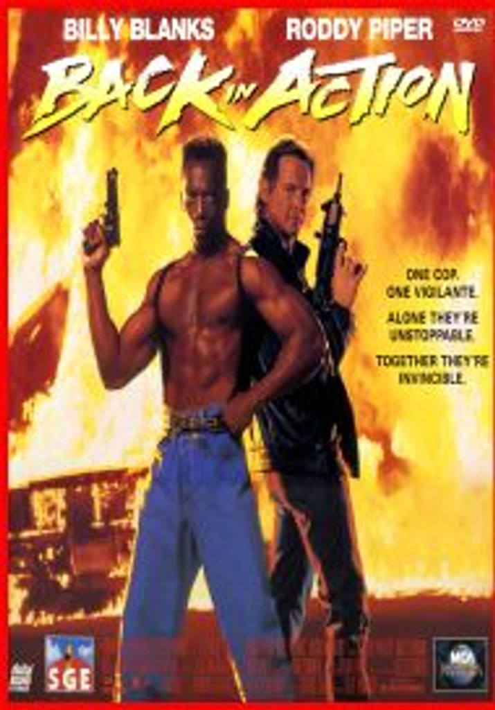 Back in Action Billy Blanks Dvd