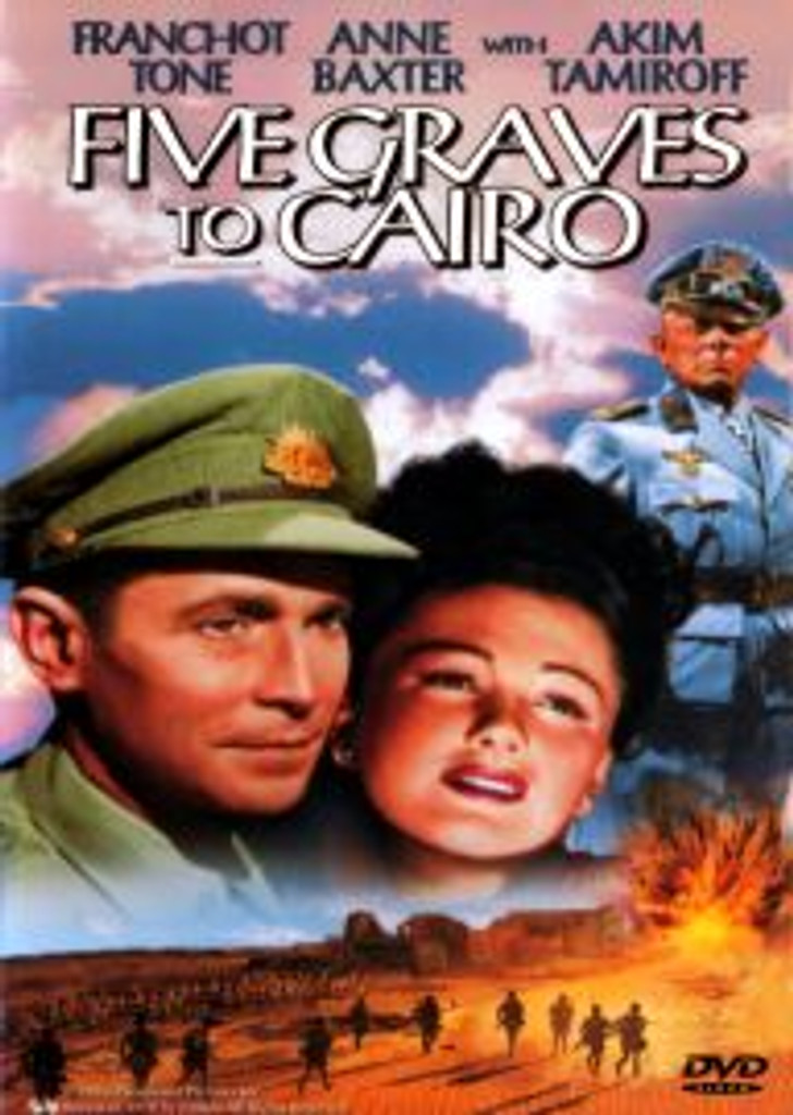 Five Graves to Cairo War Drama