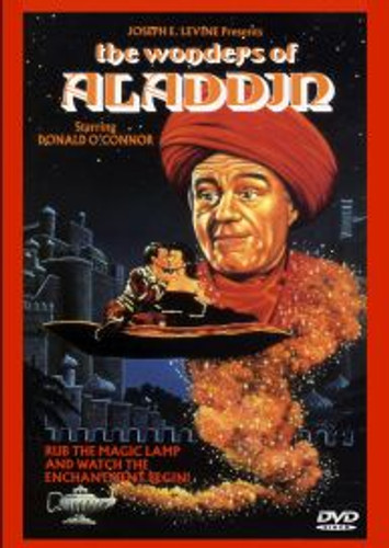 The Wonders of Aladdin Donald O'Connor Dvd