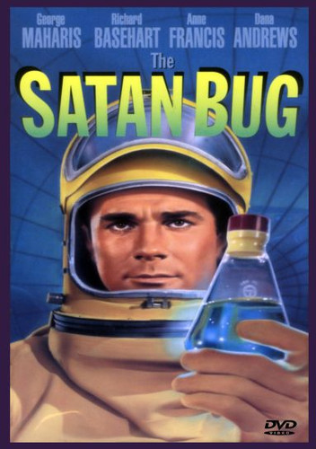 The Satan Bug Rare Sci-Fi Thriller Widescreen Dvd