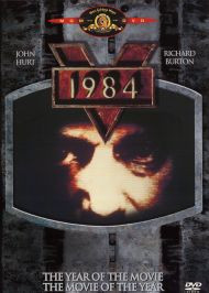 1984 Richard Burton and John Hurt Widescreen Dvd  Free Shipping
