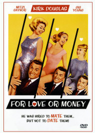 For Love or Money Kirk Douglas Dvd