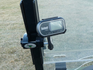 Bushnell Neo + mounted to Golf Cart