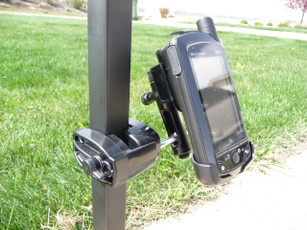Golf cart mount Skycaddie Breeze