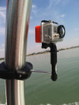 Tower Camera mount for GoPro