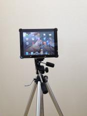 iPad Air Mounted on Tripod