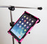 "iPad pro 12.9"" Mic Stand Mount Works with protective covers"