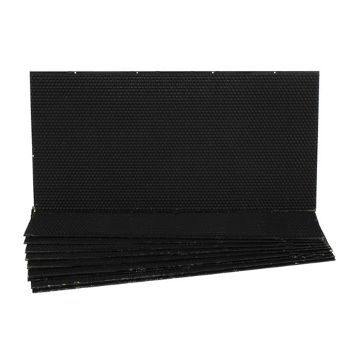 Plastic Deep Foundation - Black 10pk