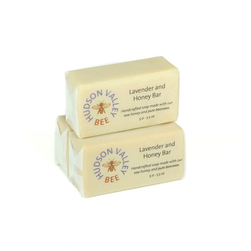 Lavender and Honey Soap - Set of Three Bars