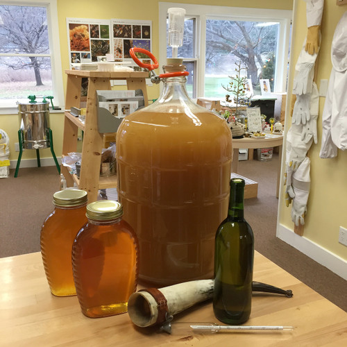Mead Making Workshop with Jorik - Nov 18, 2017