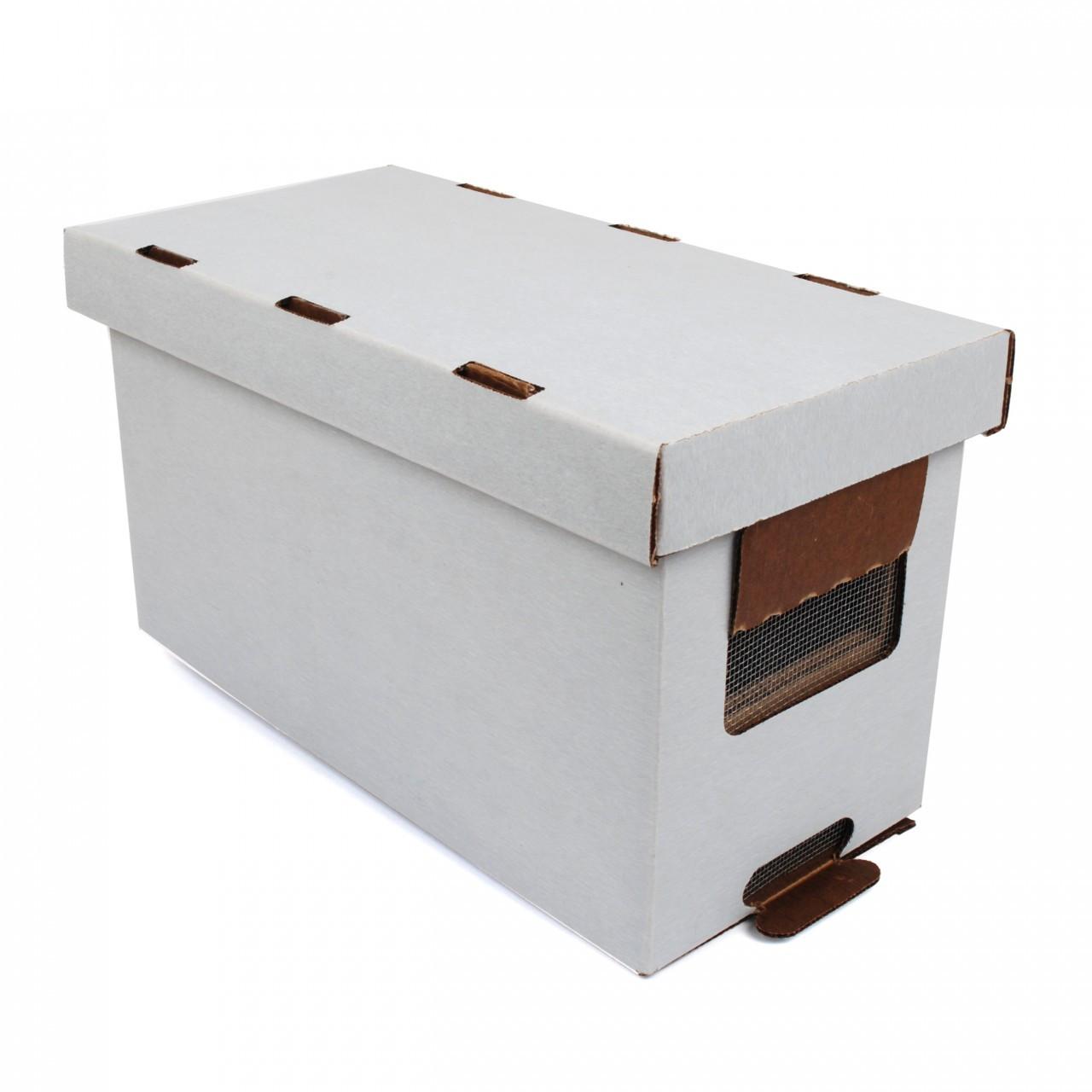 Nuc Box Waxed Cardboard Hudson Valley Bee Supply