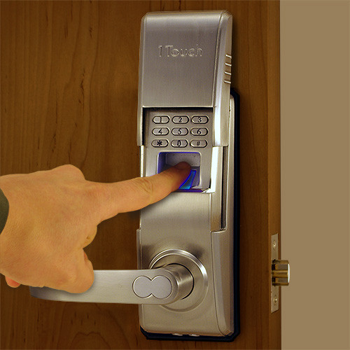 Reversible fingerprint door lock the 1touch evo3 for 1 touch fingerprint door lock