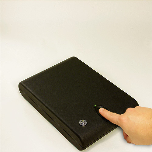 BioBox Fingerprint Scanner Use