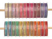 "#3 (5/8"") Wired Sheer Stripe Ribbon (24 Pc)"