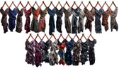 Assorted Scarves (24 Pc)