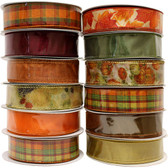 #9 Fall Ribbon (12 Pc)
