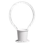 Round Basket - White (24 Pc)