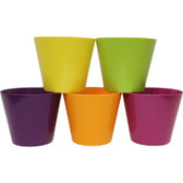 Bright Melamine Pots (30 Pc)