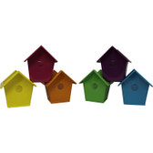Bright Birdhouses (12 Pc)