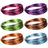 Floral Deco Metallic Wire (12 Pc)