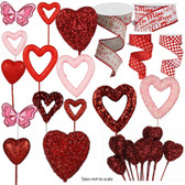 Picks and Ribbon Special (138 Pc)