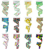 #9 Happy Birthday Ribbon (12 Pc)