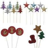 Christmas Holiday Picks (120 Pc)