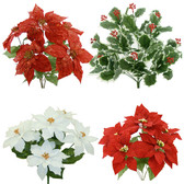 Holiday Silk Bushes (26 Pc)