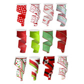 #40 Holiday Ribbon (Set #2) (12 Pc)