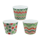 Holiday Themed Containers (Lg Size) (12 Pc)