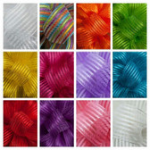 #9 Wired Sheer Stripe Ribbon (12 Pc)