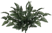Silk Leather Leaf Fern Bush (48 Pc)