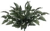 Silk Leather Leaf Fern Bush (48 Pc)