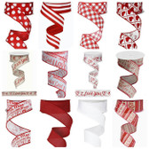 #9 Valentine Ribbon (12 Pc)