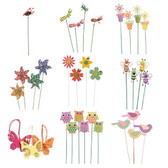 Wooden Pick Package (108 Pc)