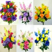 XL Color Fast Silk Bushes (6 Pc)
