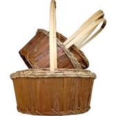 Bark Baskets (20 Pc)