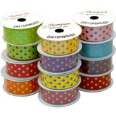 Polka Dot Ribbon #9 (12 Pc)