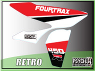 Retro Honda 450R / 250R Graphics  (Close up)  from PsychMXGrafix